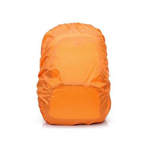 Bestope® Backpack Rucksack Pack Rain Cover Bag Rainproof Waterproof Cover For Outdoor Camping Hiking Travelling (Orange, 45L) front-163938