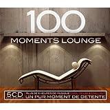 echange, troc Compilation, Hamad Kahn - 100 Moments Lounge (Coffret 5 CD)