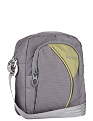 Bendly Smarty Polyester Grey Green Sling Bag - B00SY31XQ0