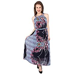Tenn Women's Maxi Dress (BLMD11NSXS_Small_Multi)