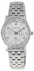 Giordano Analog White Dial Womens Watch - 60068-11
