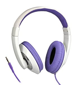 Syba CL-AUD63032 Circumaural Over-Ear Stereo Headphone - Purple