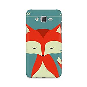 Ebby Fox Monk Premium Printed Case For Samsung J5 2016 Version