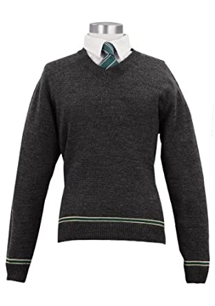 Harry Potter Slytherin School Sweater with Tie (M)