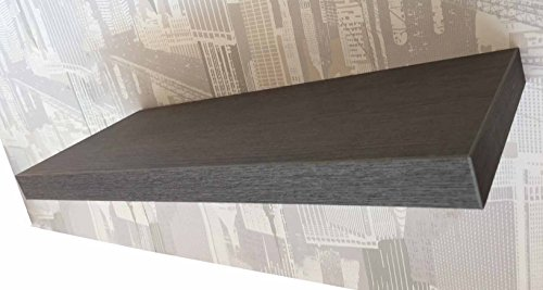 ve ca italy mensola in legno moderna 60x23 spessore 4 cm