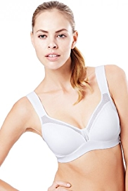 Underwired High Impact Push-Up Sports A-DD Bra