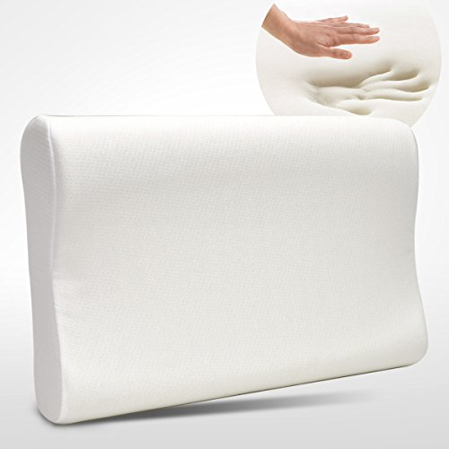 dasein-premium-contour-memory-foam-pillow-with-washable-fabric-cover-queen-size