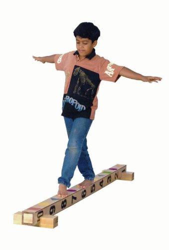 Sportime Edubeam Birchwood Balance Beam - 4 Inches Square X 90 Inches Long front-988918