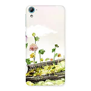 Special Fence Landscape Multicolor Back Case Cover for HTC Desire 826