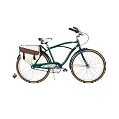26 Huffy Regatta Mens Cruiser Bike, Hunter Green by Huffy