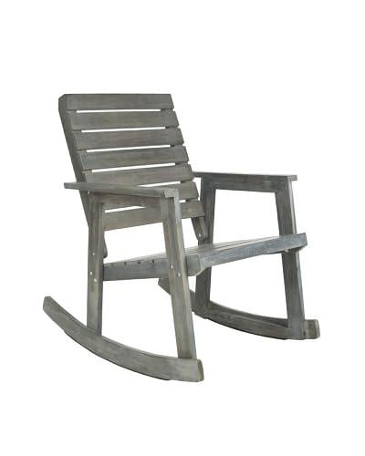 Safavieh Alexei Rocking Chair, Ash Grey