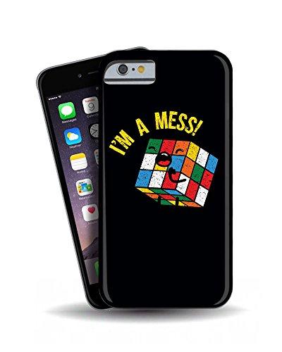 iPhone 6 'I'm Mess a forma di cubo di Rubik ' Geek 3D Cover per cellulare