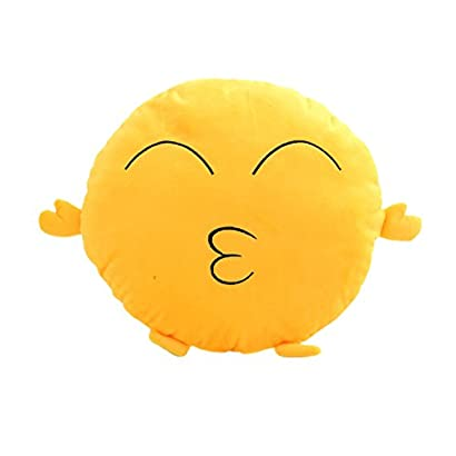 Smiley Face Laughing Tears Emoji Plush Zip Phone Wristlet Pouch Yellow