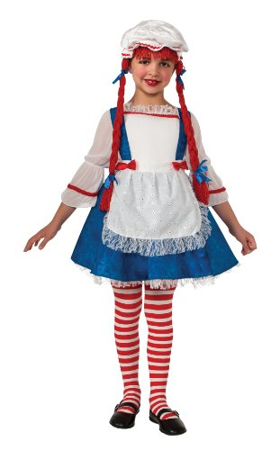 Child Rag Doll Girl Costume