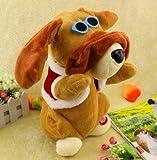踊る犬 人形 踊るぬいぐるみ 犬 手を動かして耳でリズムをとる人形 サングラス犬 / ぬいぐるみ /人形 / 動く/ ダンシング ラブちゃん / 玩具 / 歌う / 音楽 / ダンシング ドール /  歌う犬