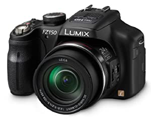 Panasonic DMC-FZ150K 12.1 MP Digital Camera with CMOS Sensor and 24x Optical Zoom (Black)