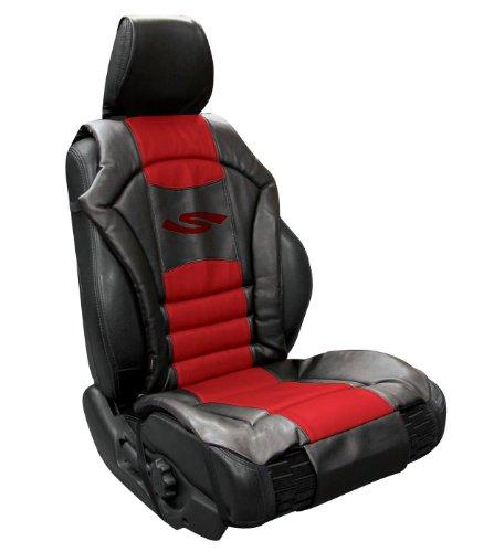 Autositzbezug gepolstert - rot  (Sportex-Serie)