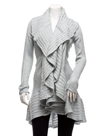 bebe 2b Cowl Sweater Duster