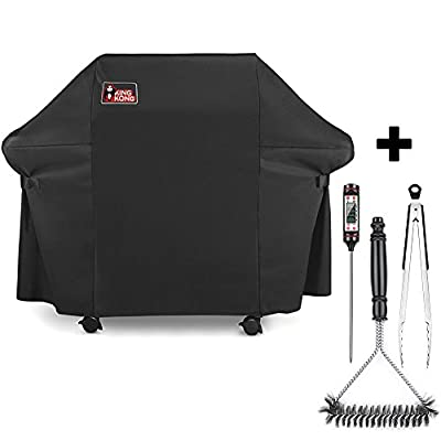 Kingkong 7553 | 7107 Gas Grill Cover Kit for Weber Genesis E and S Series Gas Grills