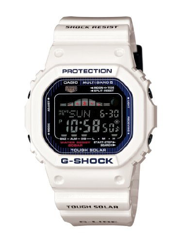 Casio Men's GWX5600C-7 G-Shock G-LIDE White Resin Digital Watch