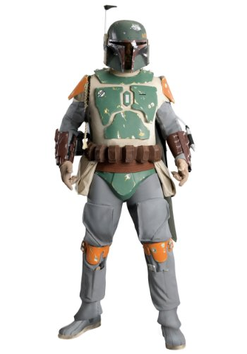 Rubies Mens Boba Fett Supreme Star Wars Movie Characters Fancy Costume