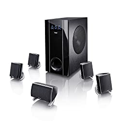 Teufel Concept E 300 5.1-Set PC/Multimedia-Lautsprecher-Set (5 Zweiweg-Satelliten-Boxen, 300 Watt Verstärker im 5.1-Subwoofer mit 250-mm-Tieftöner) ab 199,99 Euro inkl. Versand