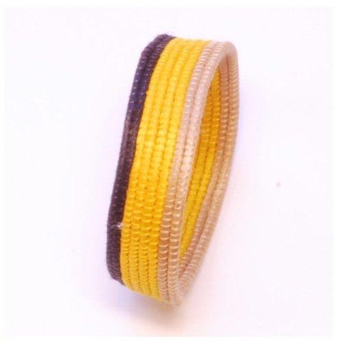 Nicole Miller Woven Bracelet (NM14) - Rwanda