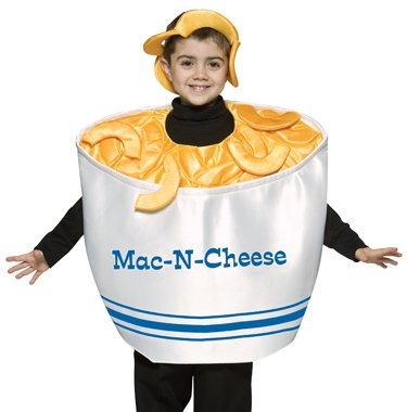 Child Mac and Cheese Funny Costume