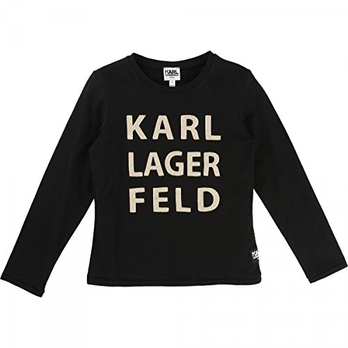 karl-lagerfeld-t-shirt-manches-longues-noir-12-ano-negro