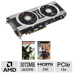 XFX ATI Radeon HD7950 3 GB DDR5 2DVI/HDMI/2x Mini DisplayPort PCI-Express Video Card (FX795ATDFC)