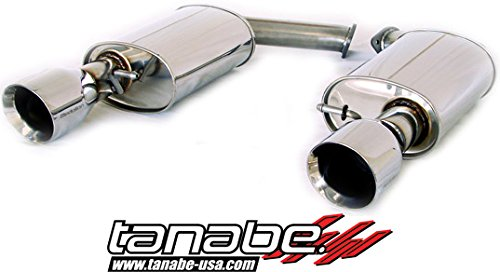 Tanabe :: T70095A, 92-00 Lexus SC300 and 92-00 Lexus SC400 Medalion Touring Cat Back Exhaust System Dual Muffler Axle Back (Exhaust System Sc300 compare prices)