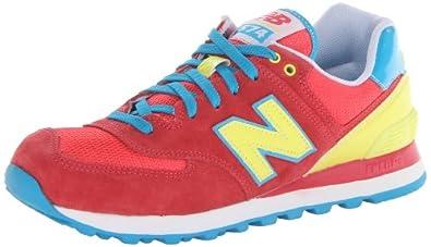 New Balance Women's WL574 Carnival Running Shoe,Pink,6 B US