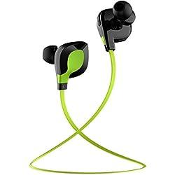 Cuffie Bluetooth, JETech® Sportive Auricolari Wireless Bluetooth Stereo Cuffie Headphone Headset Earphone w/Microfono per Apple iPhone 6/5s/5c/5, iPhone 4s/4, Samsung Galaxy S5/S4/S3, LG, PC Laptop, e l'altro Dispositivo Bluetooth - H0783