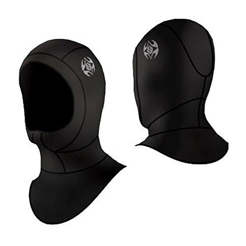 SLINX Snorkeling 3mm Surfing Hat Cap Water Dive Hood HPY020 Black M