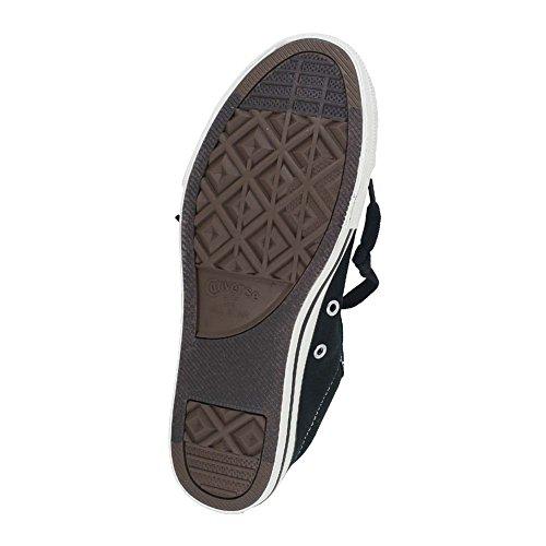 CONVERSE Kids' Chuck Taylor Street Low Top Sneaker Pre/Grade School (Black 4.5 M)
