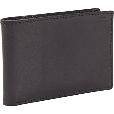 Dopp RFID Black Ops Front Pocket Slimfold Wallet (Black)
