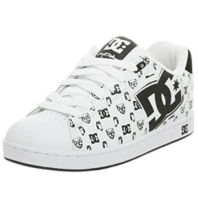 DC Men's Rob Dyrdek Skate Shoe,White/Carbon,11.5 M