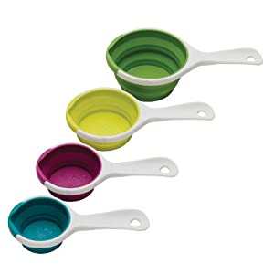 Chef'n SleekStor Pinch Pour Collapsible Measuring Cups