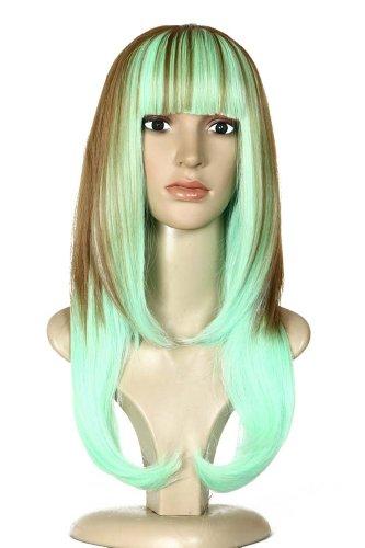 Amybria Vingt coloršŠ cosplay perruque longue