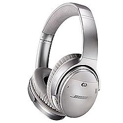 Bose QuietComfort-35 Wireless Headphones (Silver)