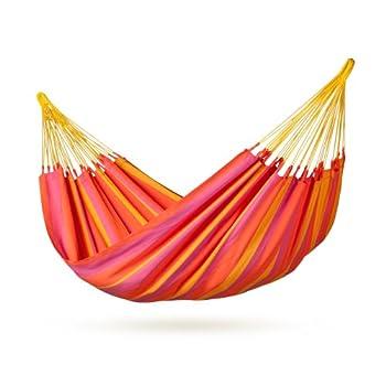 La Siesta Snh14-5 Colombian Weatherproof Single Hammock Sonrisa Mandarine