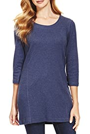 3/4 Sleeve Contour Tunic [T41-8320W-S]