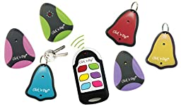 Click \'n Dig Model F6 Key Finder. 6 Receivers. Wireless RF Remote Item, Wallet Locator.
