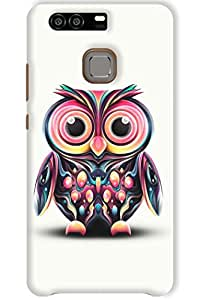 IndiaRangDe Hard Back Cover FOR Huawei P9