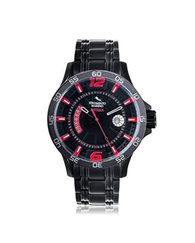 Strumento Marino Men's Black/Red SM116MB/BK/NR/RS Watch