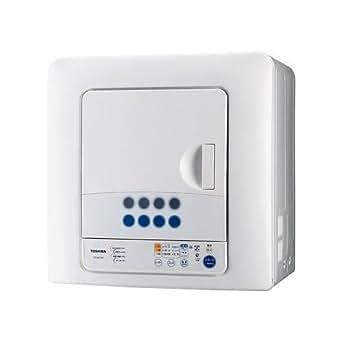 東芝 衣類乾燥機 ED-60C(W) 乾燥容量6kg ピュアホワイト