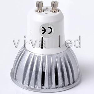 Top 6w Led Cree Mr16 Gu10 Spot Light Down Lamp Bulbs Cool White Warm White Replace 50w Halogen 12v 110v 120v (gu10 Warm white 110v)