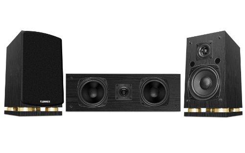 Fluance Sx Series Center Channel & Surround Sound Speakers (Black)