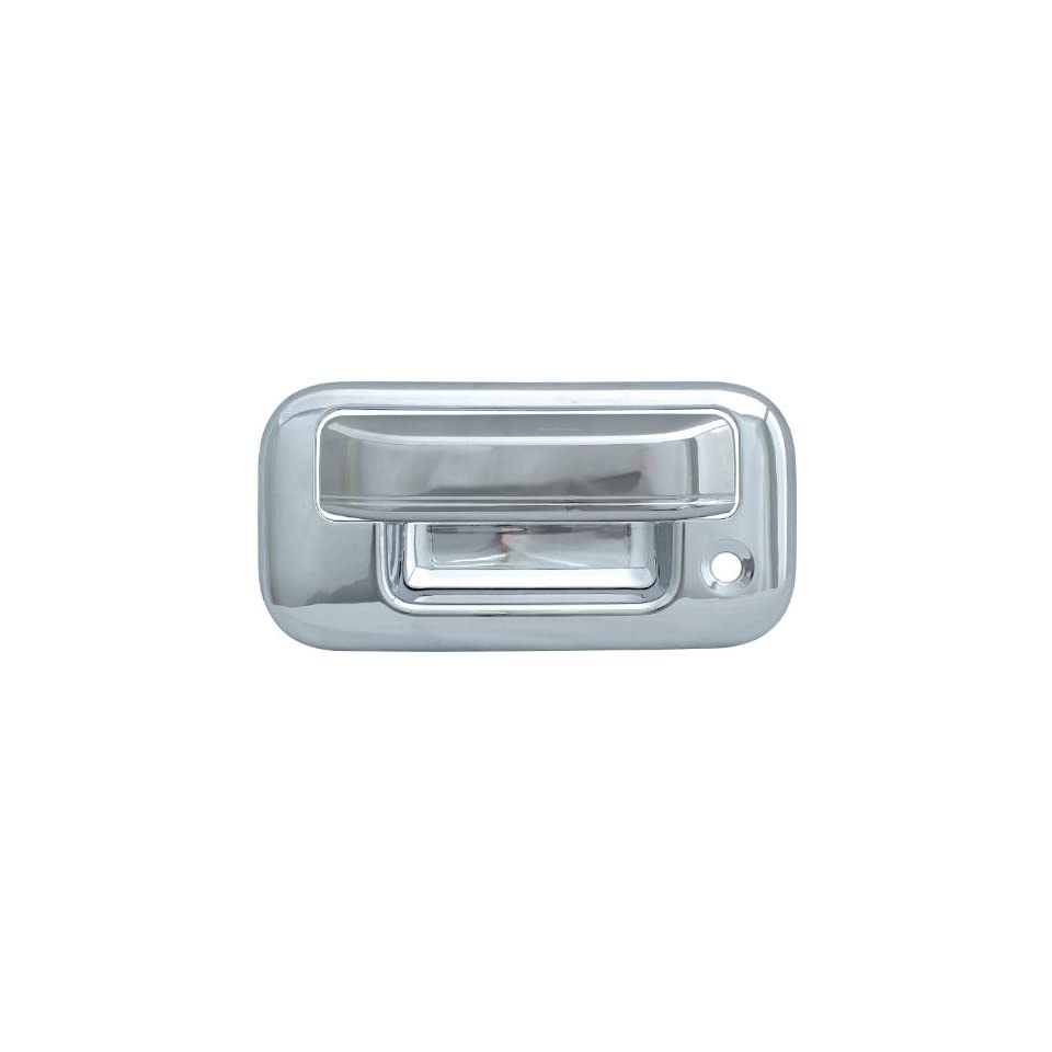 Bully Chrome Tailgate Handle Cover for a 07 09 FORD EXP. SPORT TRAC / 04 09 FORD F150 / 08 09 FORD SUPER DUTY 2 dr STANDARD Tailgate Handle Cover TGH65204