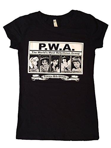 princess-with-attitude-disney-tattoos-punk-t-shirt-new-2xl